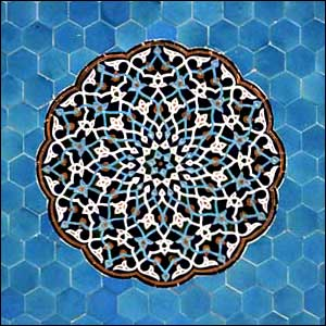 Tile Work From Esfahan Safavid Era