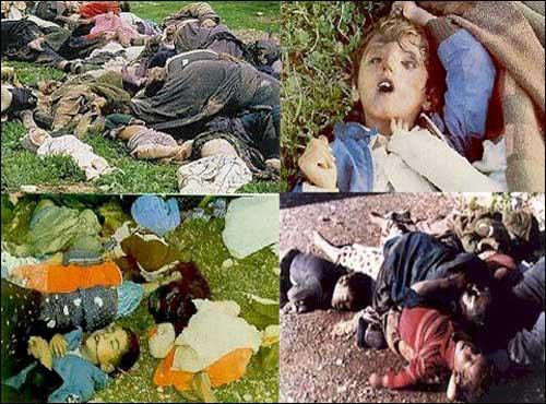 sadam gassed kurds