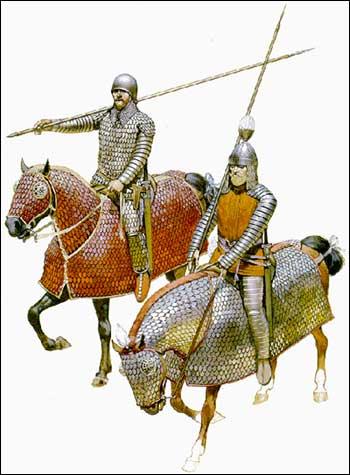 Parthská těžká jízda
