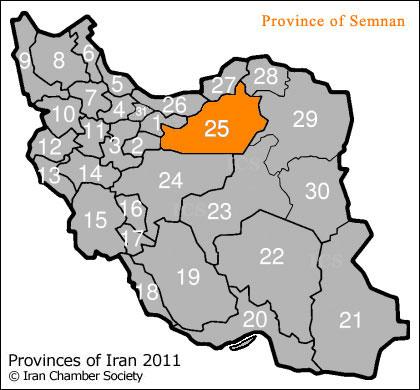 Resultado de imagen de región de Semnan